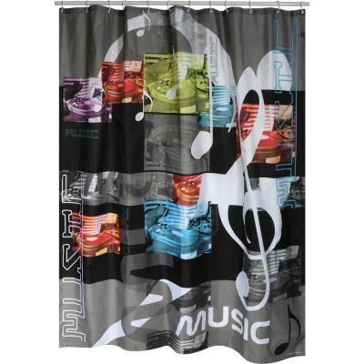 Cortina de baño Música 180x200 cm