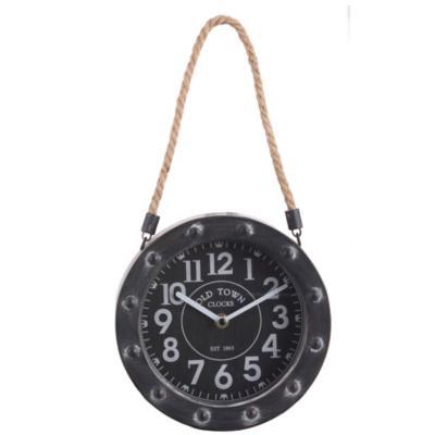 Reloj colgante Metálico 20 cm
