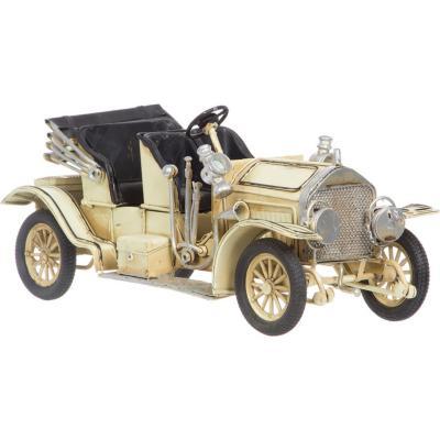 Auto Antiguo Descapotable decorativo 11X11X25,5 cm madera