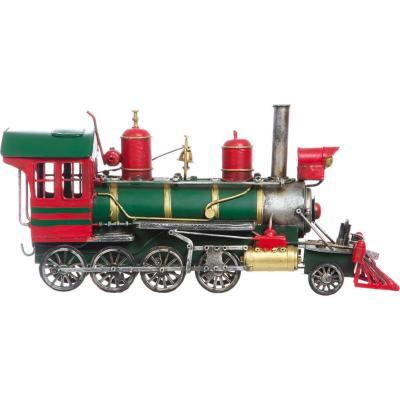Tren a Vapor decorativo 10x15x34 cm metal