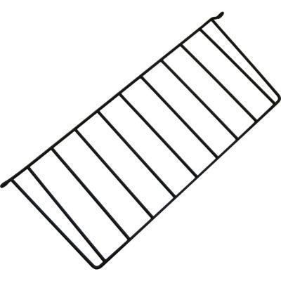 Soporte repisa 50x20 cm negro