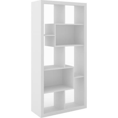 Estante 8 repisas 78x31,5x159 cm Blanco