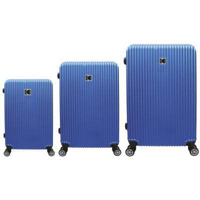 Set de 3 maletas rigidas Azul