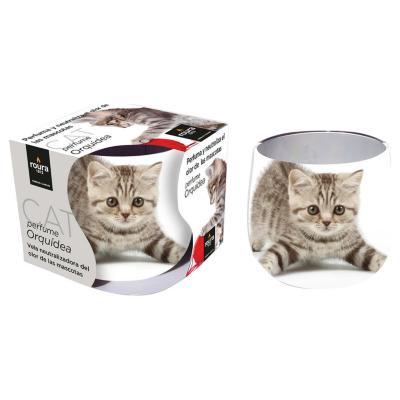 Vela neutralizador olor gato
