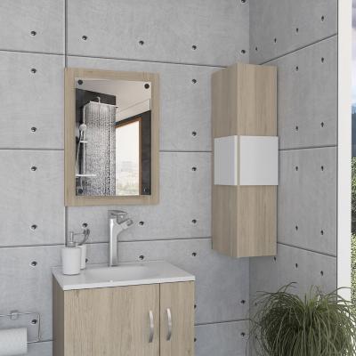Kit espejo+ mueble lateral