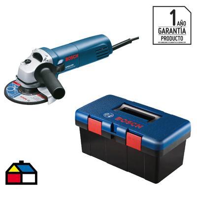 Esmeril 670 W más toolbox