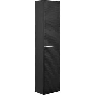 Armario 1 puerta reversible Negro