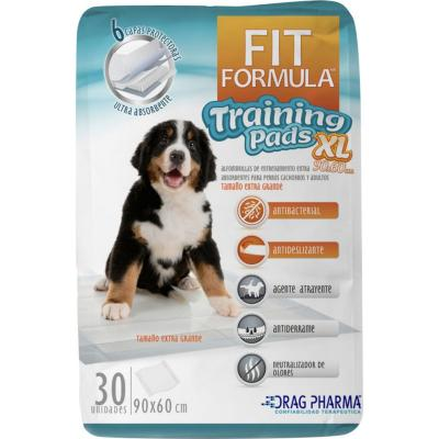 Sabanillas entrenamiento para mascota 30 unidades