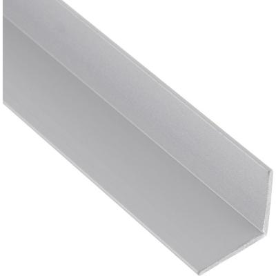 Pack ángulo aluminio 25x25x1 mm mate  3 m, 6 unidades