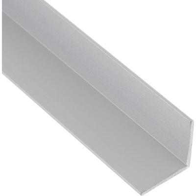 Pack ángulo aluminio 25x25x1 mm mate  6 m, 6 unidades