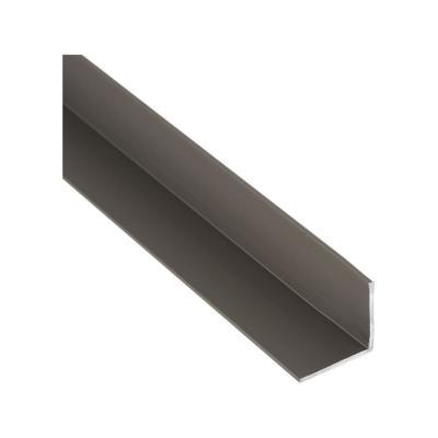 Pack ángulo aluminio 13x13x1,2 mm titanio  3 m, 6 unidades