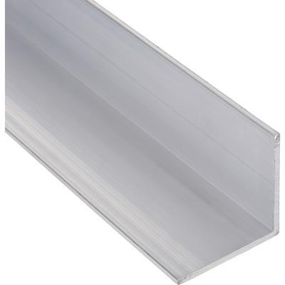 Pack ángulo aluminio 50x50x3 mm natural   6 m, 6 unidades