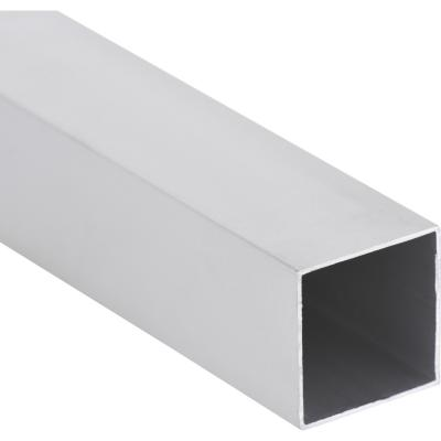 Pack tubular aluminio 30x30x1 mm mate  3 m, 6 unidades