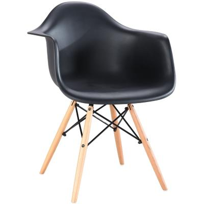 Silla 82x43x56 cm negro