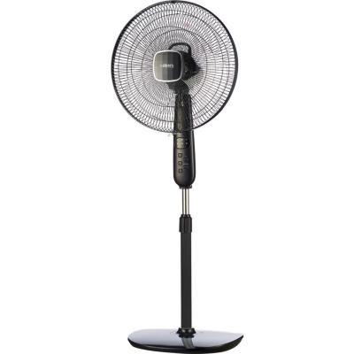 """Ventilador de pedestal 16"""" negro"""