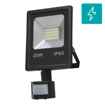 proyector led SMD 20W 4000K con sensor negro