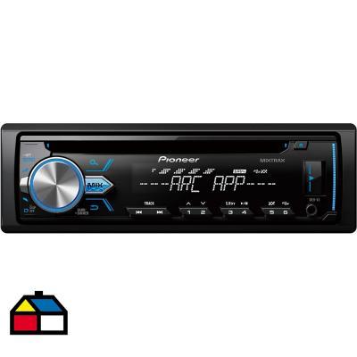 Radio para automóvil 1din CD/USB/AUX