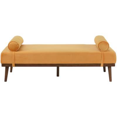 Banqueta 170x80x60 cm amarilla