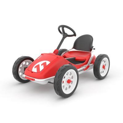 Triciclo auto rojo