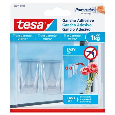 Gancho adhesivo para superficies transparentes y vidrio 1 kg