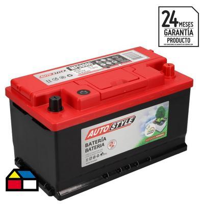 Batería para auto 80 A positivo derecho 750 CCA
