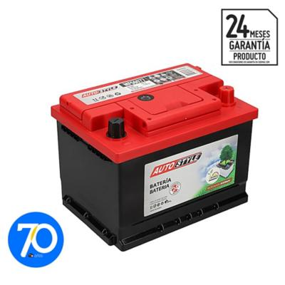 Batería para auto 60 A positivo derecho 470 CCA