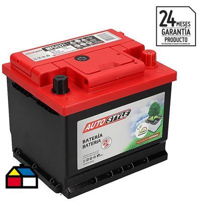Batería para auto 45 A positivo derecho 400 CCA