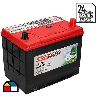Batería para auto 70 A positivo derecho 610 CCA