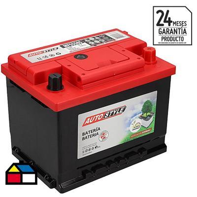 Batería para auto 55 A positivo izquierdo 460 CCA