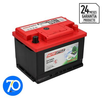 Batería para auto 55 A positivo derecho 460 CCA