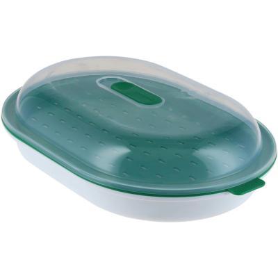 Cocina al vapor para microondas Verde