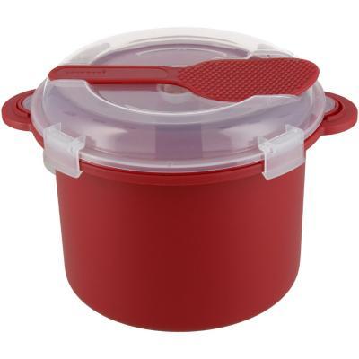Olla para microondas de Plástico 15 cm  Rojo