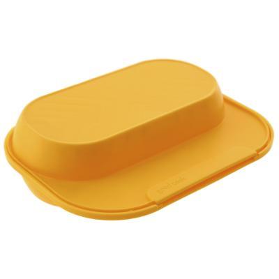 Huevos pochados para microondas amarillo