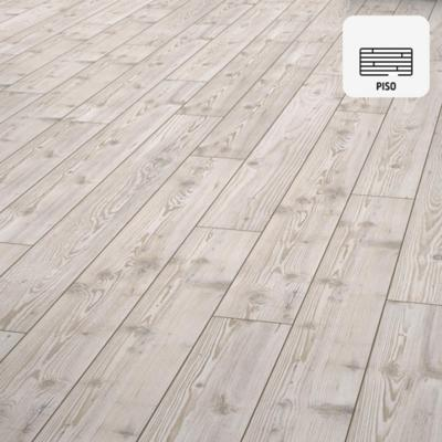 Piso flotante 10 mm beige 138x15,7 cm 1,3 m2
