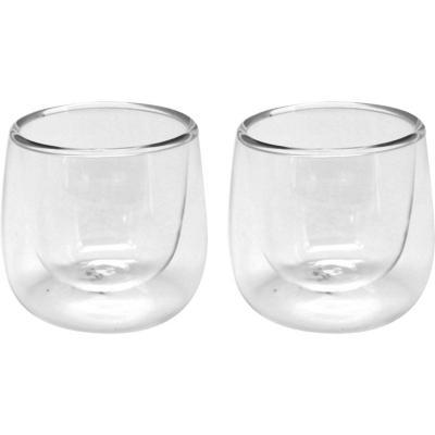 Set 2 expresso vidrio 90 ml