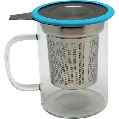 Mug infusor vidrio