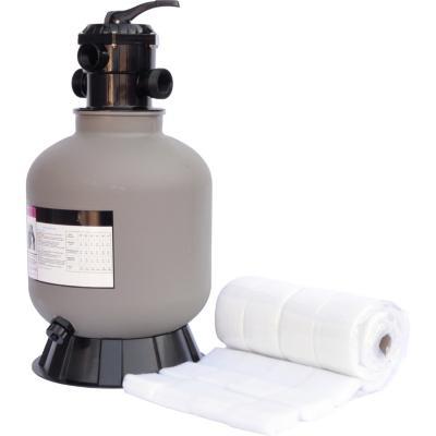 Kit filtro de piscina con material filtrante, hasta 7M3/H
