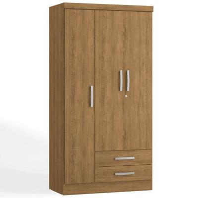 Closet 2 cajones 3 puertas teca