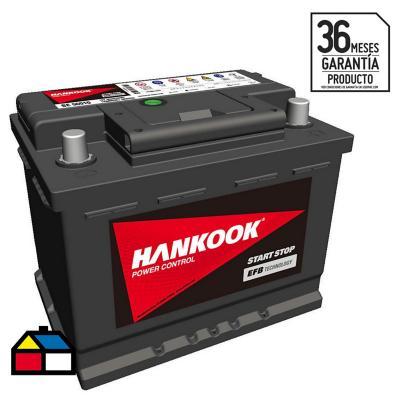 Batería 60 A Derecho Positivo 560 CCA