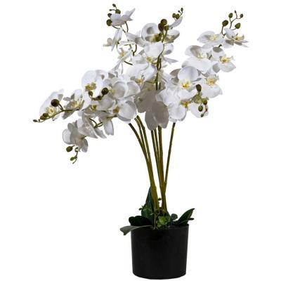 Orquidea artificial 8 varas