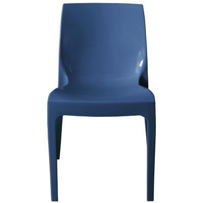 Silla PVC 82x47x47 cm azul