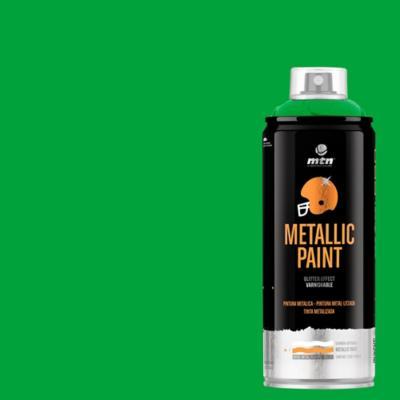 Spray pro verde metálico