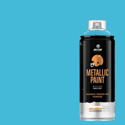 Spray pro azul metálico