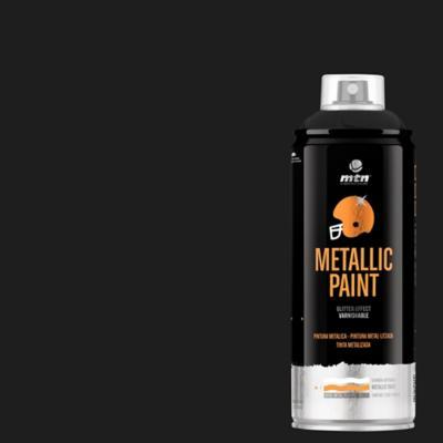 Spray pro negro metálico
