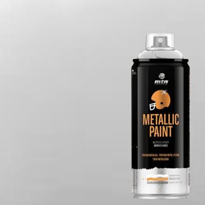 Spray pro aluminio metálico