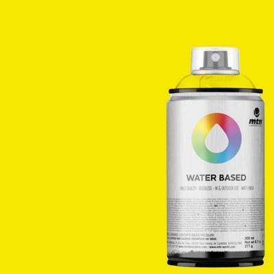 Spray base agua amarillo fluorecente 300 ml