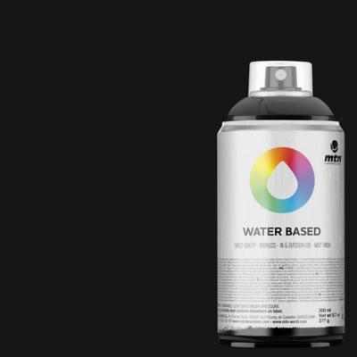 Spray base agua negro 300 ml