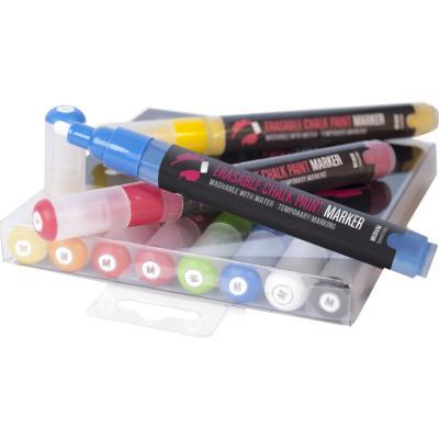Rotulador chalk base agua 8 colores 5 mm