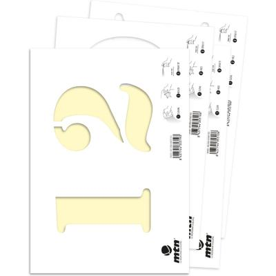 Stencil pack numeros