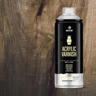 Spray pro barniz acrílico brillante